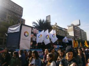 Marcha Santiago 1 Foto FDS