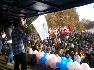 Marcha Santiago Foto FDS