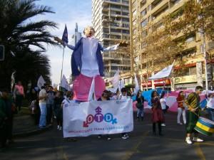 Marcha Santiago Foto Frente DS