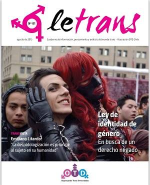 Con Apoyo De La Unión Europea, Asociación OTD Chile Lanza La Primera Revista Chilena De Temática Transgénero