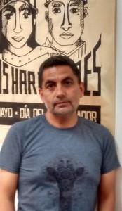 Andrés Troncoso Aguilar, Secretario Nacional del Sindicato SINTRAC.