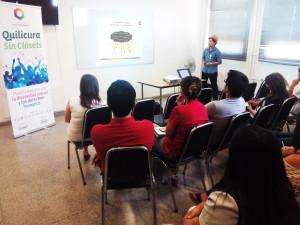 Presentación llevada a cabo por el presidente de OTD Chile, Michel Riquelme.