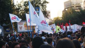 Marcha Día Internacional de la Mujer, Santiago.