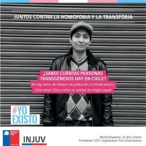 Campaña del INJUV por la visibilización trans
