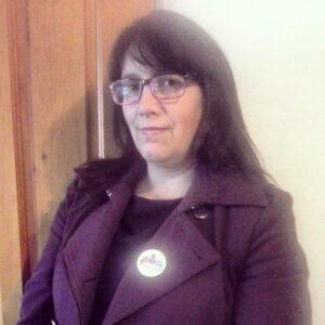 La coordinadora de OTD Sur, María José Sazo.