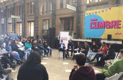 Le Presidente De OTD Chile, Michel Riquelme, En Su Turno En El Foro De Diversidad Sexual Y De Género