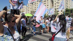 Batucada Trans de OTD Chile ^_^