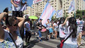 Batucada Trans de OTD Chile :D