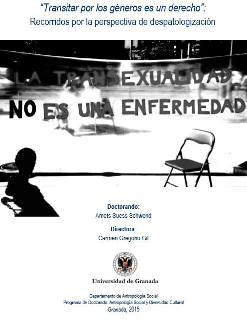 """""""Transitar Por Los Géneros Es Un Derecho"""": Recorridos Por La Perpectivad De Despatologización"""
