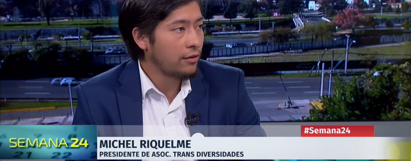 Entrevista Presidente OTD Michel Riquelme Semana 24 Sobre Ley De Identidad De Género