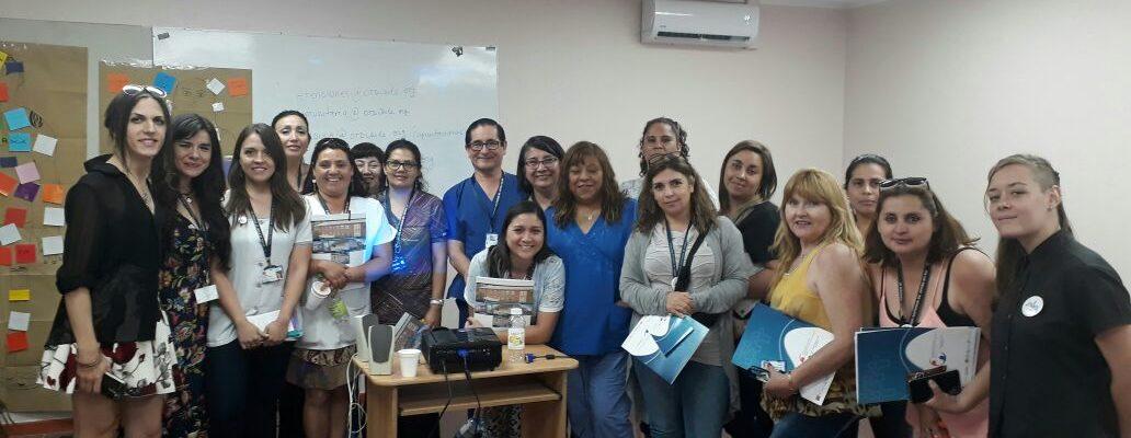 OTD Chile Realizó Capacitación A 125 Funcionaries Del Hospital Sótero Del Río