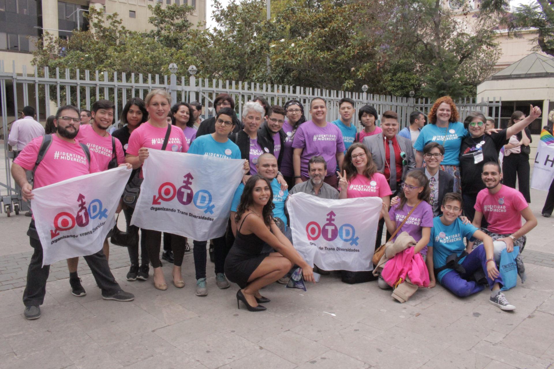 Activistas congreso de valparaíso