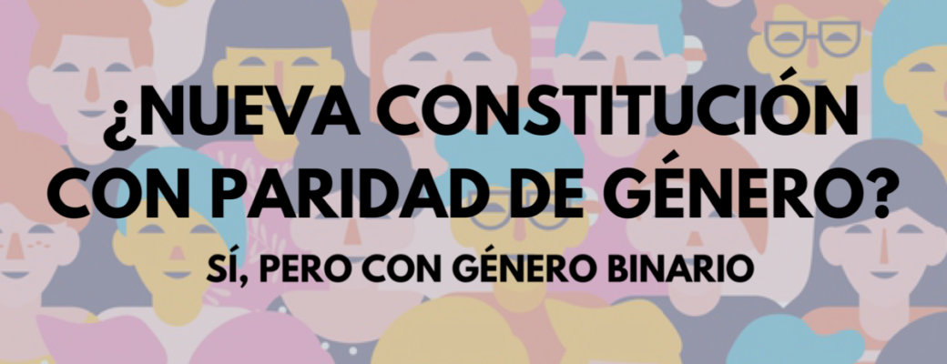 Yes To A New Constitution With Gender Parity And Binary Gender