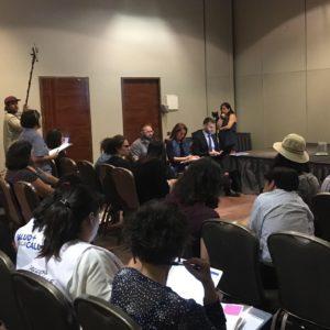 Reunión Mujer y Comunidad LGTBIQ+ con la CIDH en Santiago de Chile