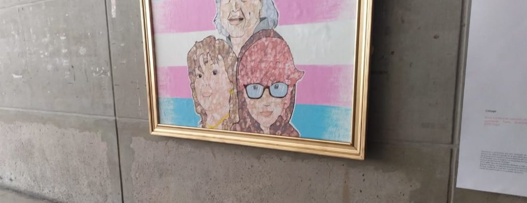 Work Of Art Pays Tribute To The Trans Memory At The Santiago Library