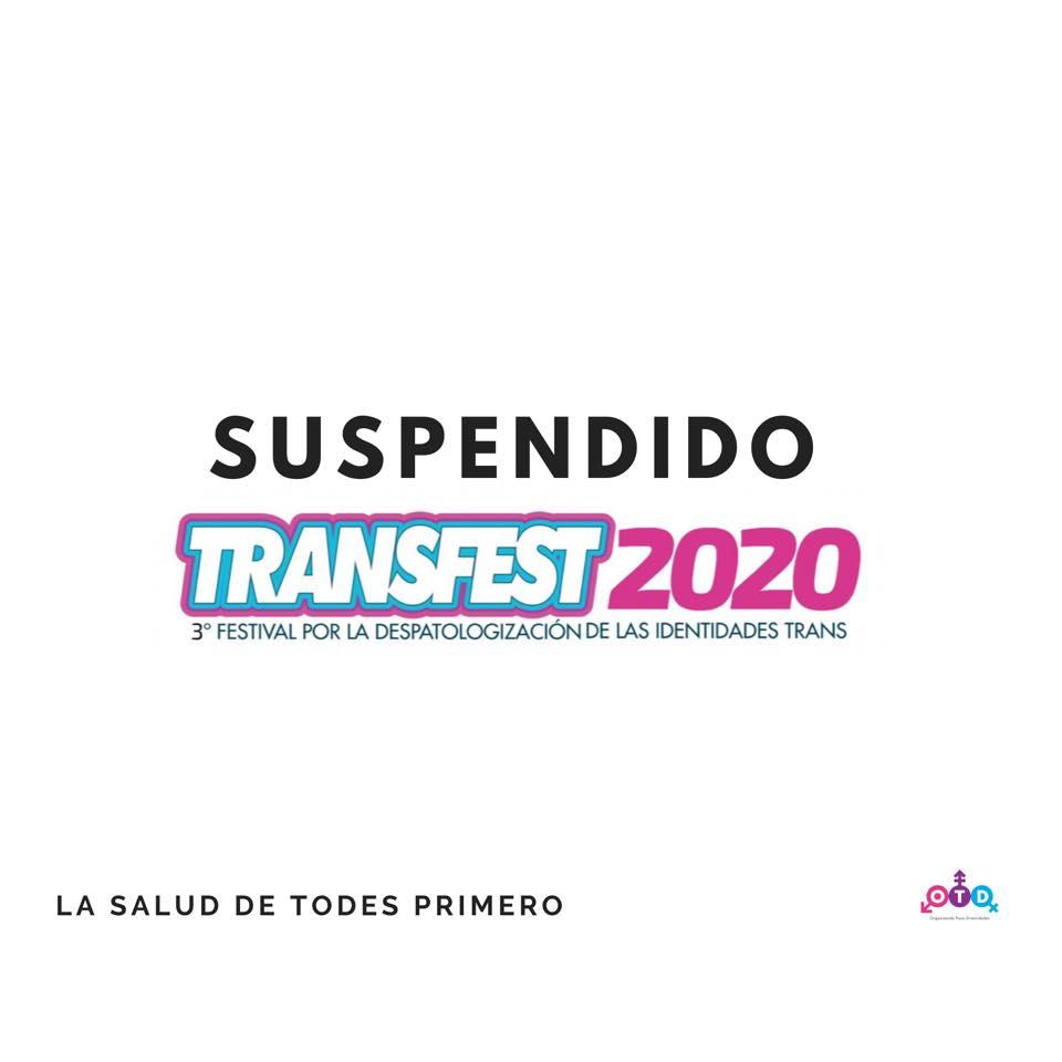 Suspendido TransFest 2020