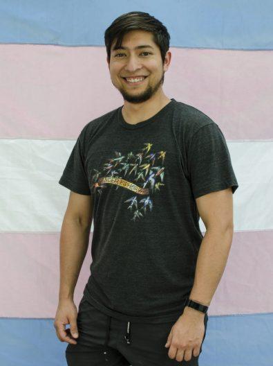 Michel Riquelme, coordinadore ejecutive de Organizando Trans Diversidades (OTD). Créditos: OTD.
