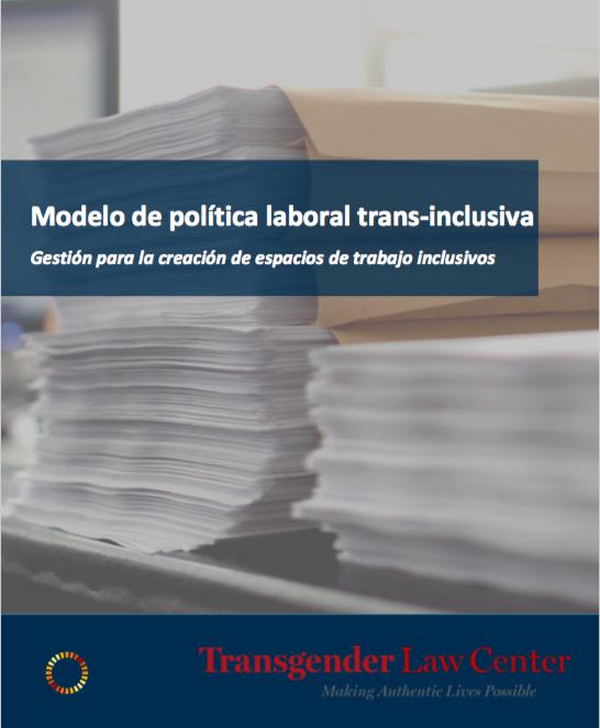 Modelo De Política Laboral Trans-inclusiva