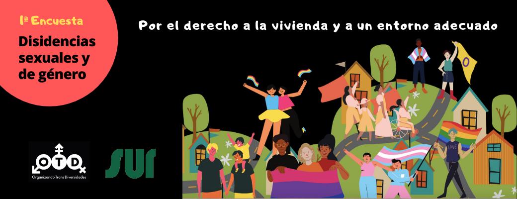 Lanzan Primera Encuesta Sobre Situación Habitacional Y Entorno Urbano Para Disidencias Sexuales Y De Género En Chile