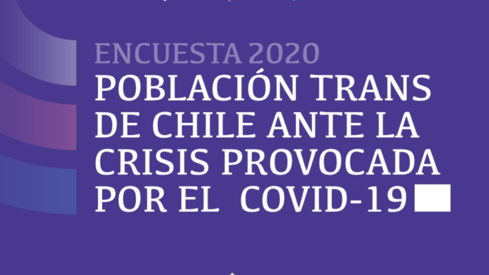 Población Trans En Chile Ante La Crisis Provocada Por El Covid-19