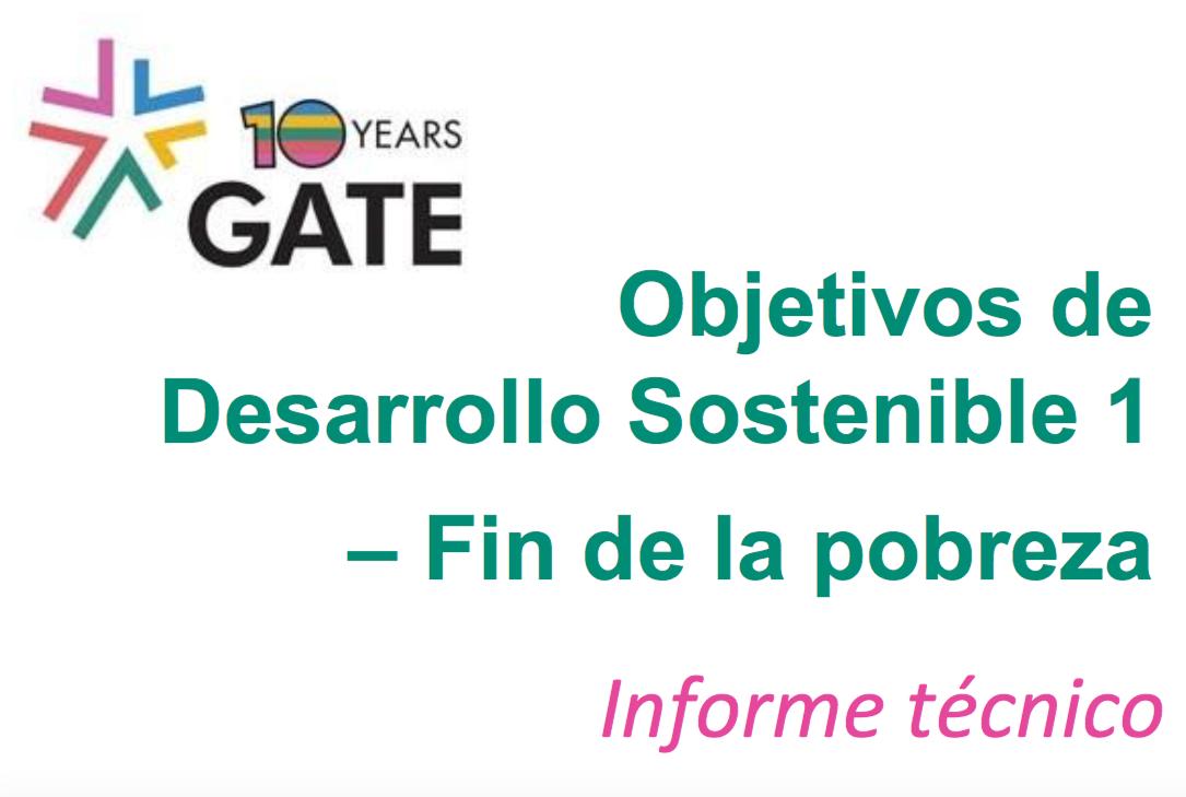 Objetivos De Desarrollo Sostenible 1: Fin De La Pobreza