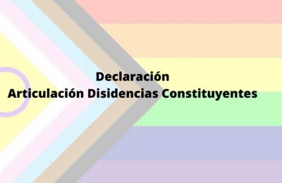 Eclaración Articulación Disidencias Constituyentes